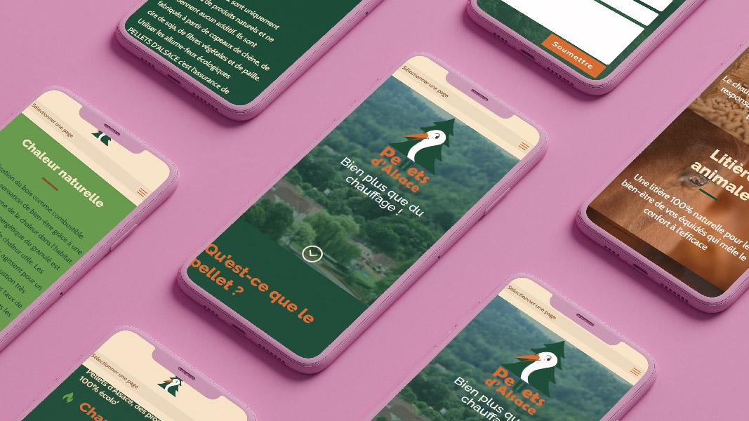 Multi-téléphone Pellets d'Alsace