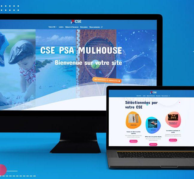 2 ordinateurs site CSE Peugeot