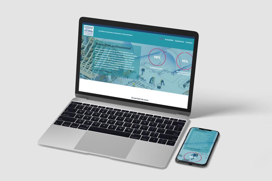 Ordinateur et mobile site ICP