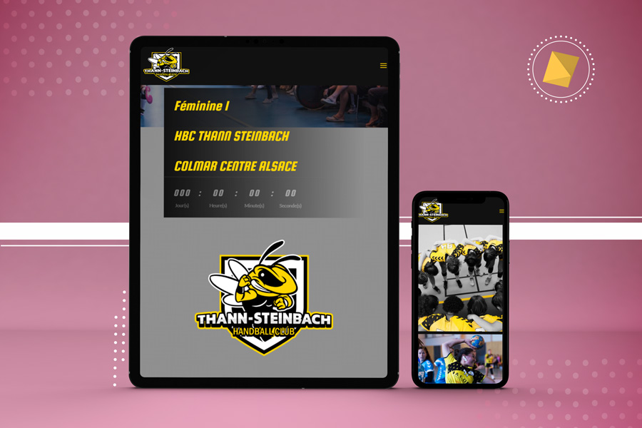 Site du club de handball Thann Steinbach
