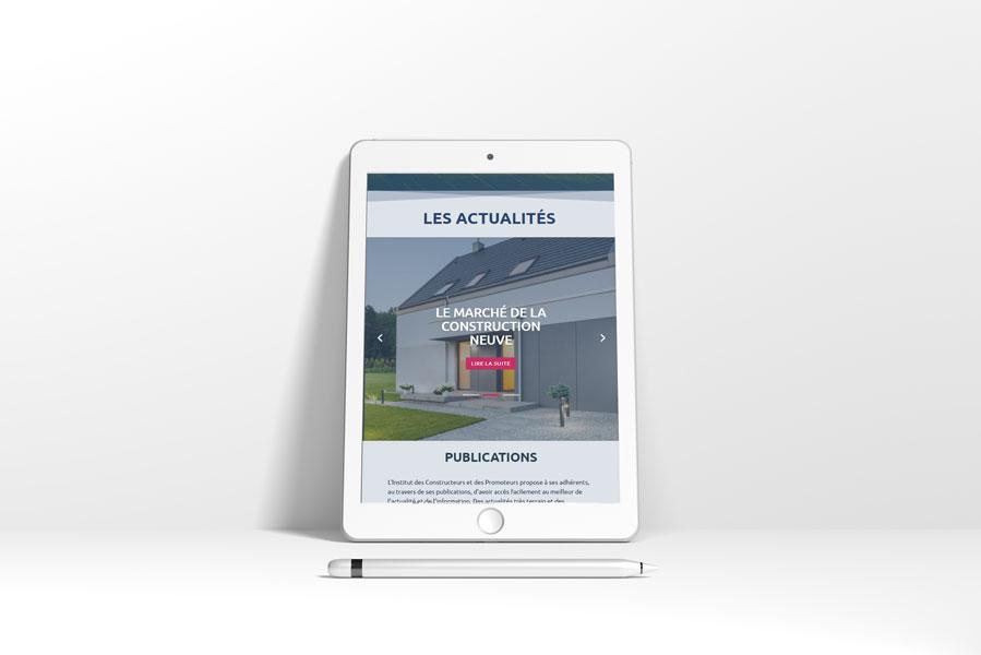 Tablette site ICP