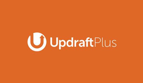 Logo plugins updraft plus WordPress