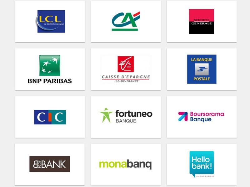 liste banques en France