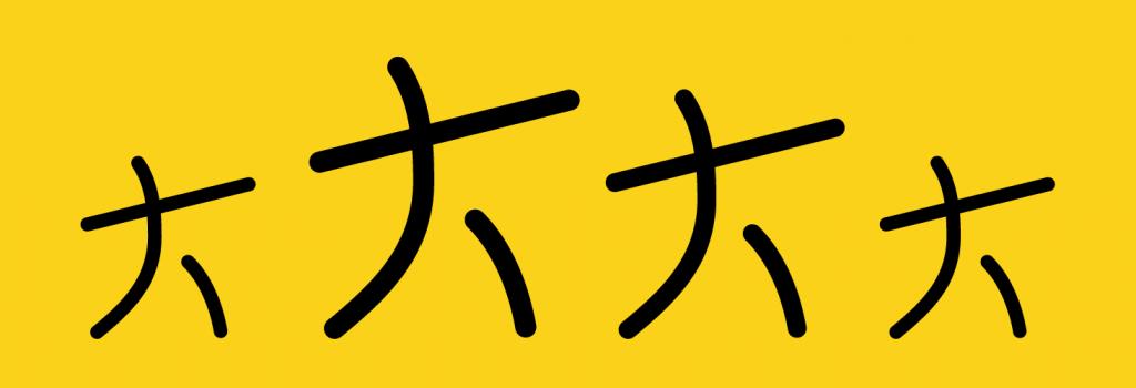 Bannière Kodeane 4 personnages jaune et noir